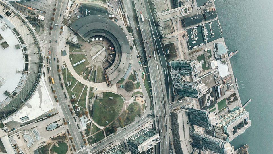 Vista desde CN Tower Edge Walk, por Ximena López Díaz