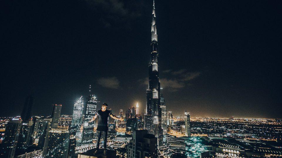 Burj Khalifa, en Dubai, por Rohan Makhecha
