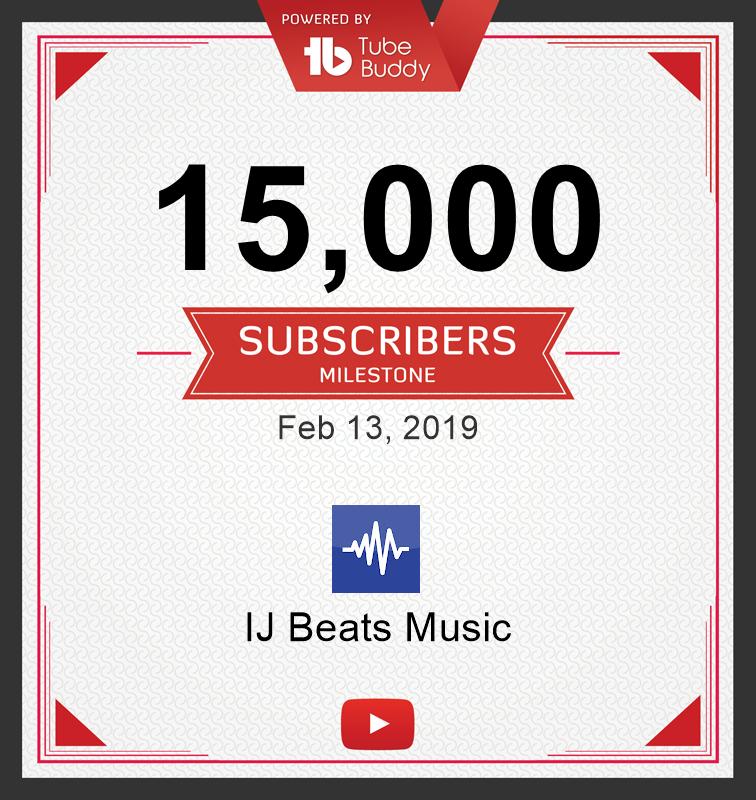15,000 Subscribers Milestone! via @TubeBuddy