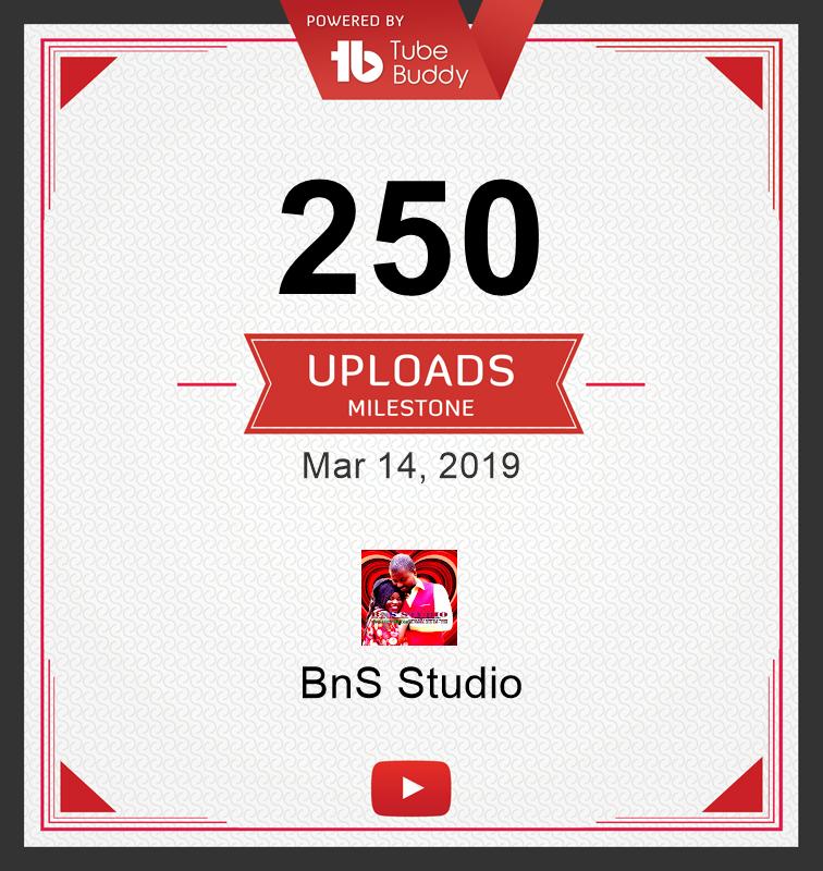 250 Uploads Milestone! via @TubeBuddy