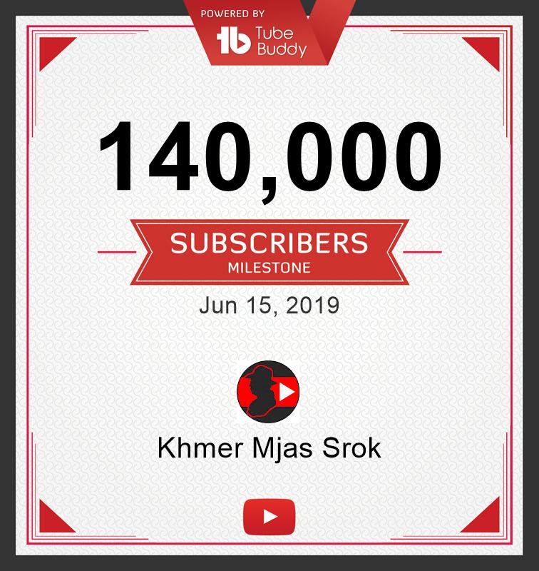 140,000 Subscribers Milestone! via @TubeBuddy
