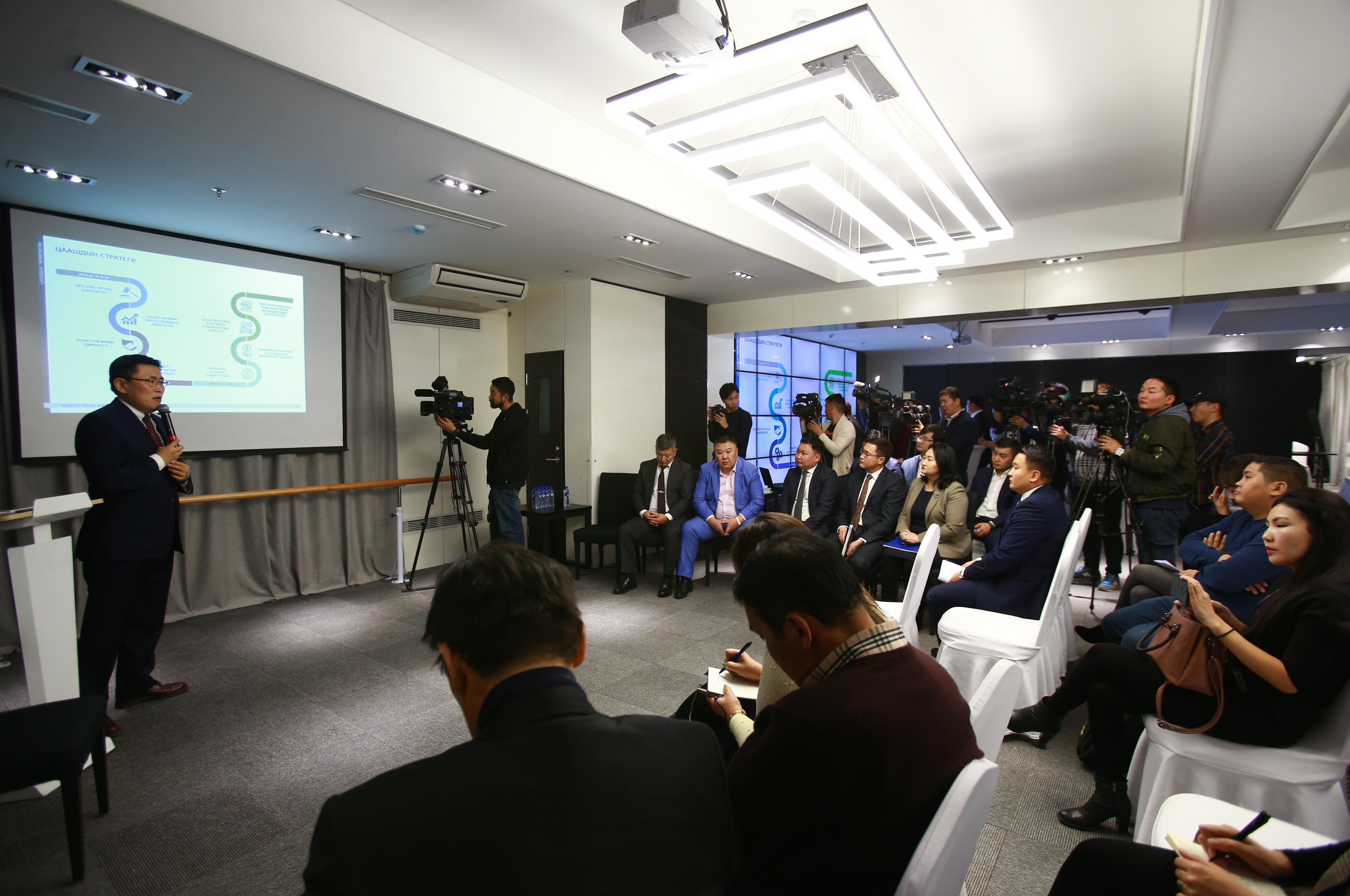 Монгол улсын ХӨГЖЛИЙН БАНК сэтгүүлчидтэй зангиагүй уулзалт зохион байгууллаа