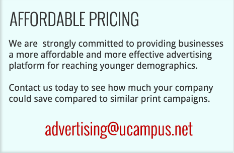 UCampus Advertising Affordable Prices