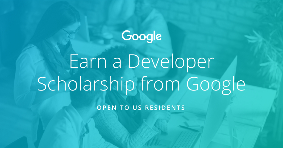 Earn a Developer Scholarship from Google | Udacity