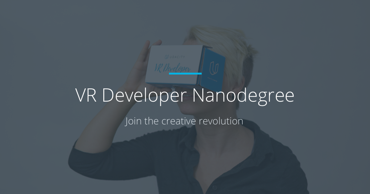 Learn vr become a vr developer udacity fandeluxe Gallery