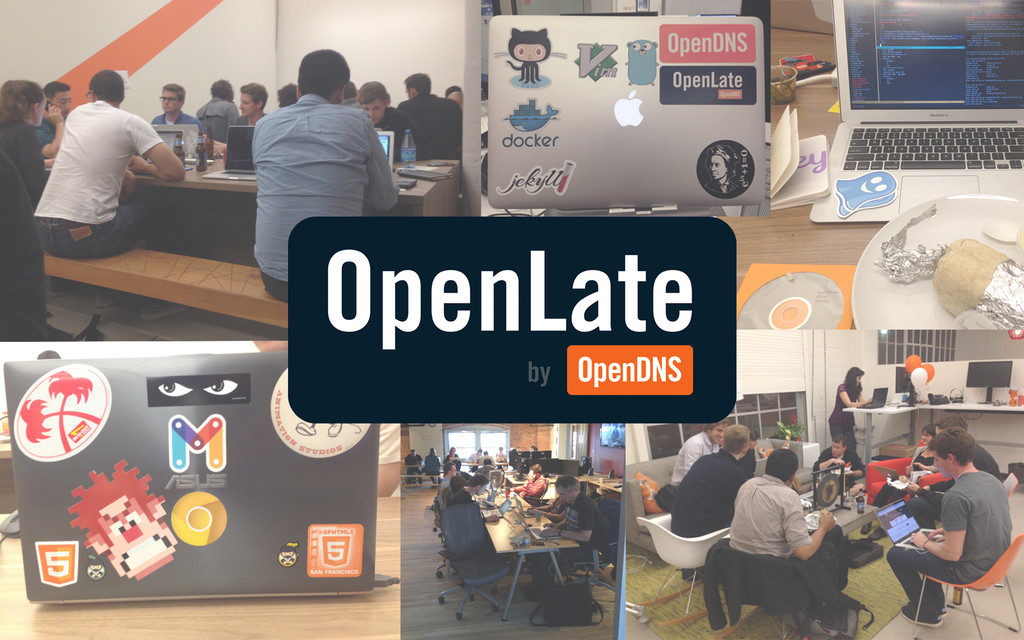 OpenLate Collage