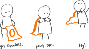 OpenDNS Fly