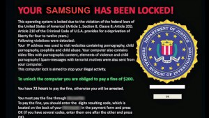 Your Samsung Has Been Locked!