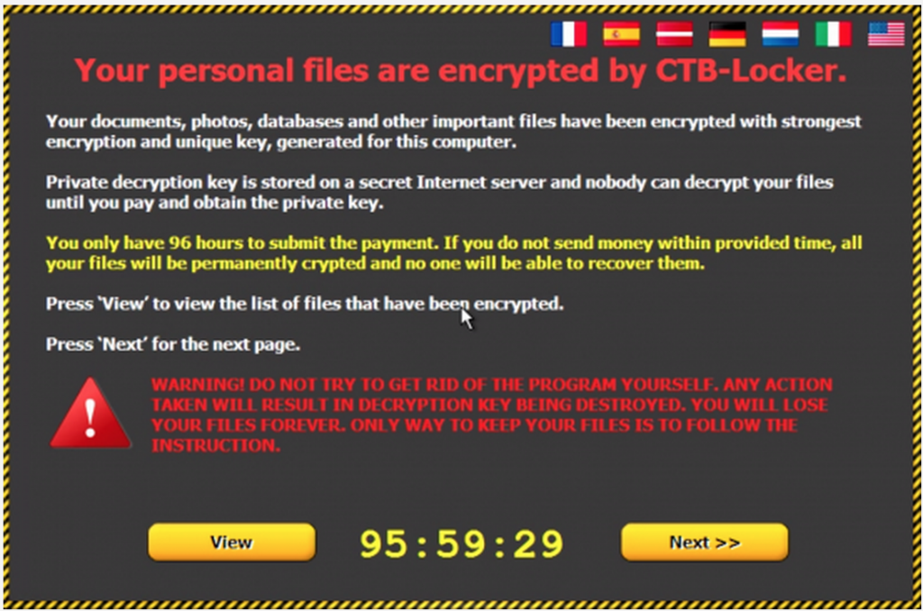 CTB Ransomware