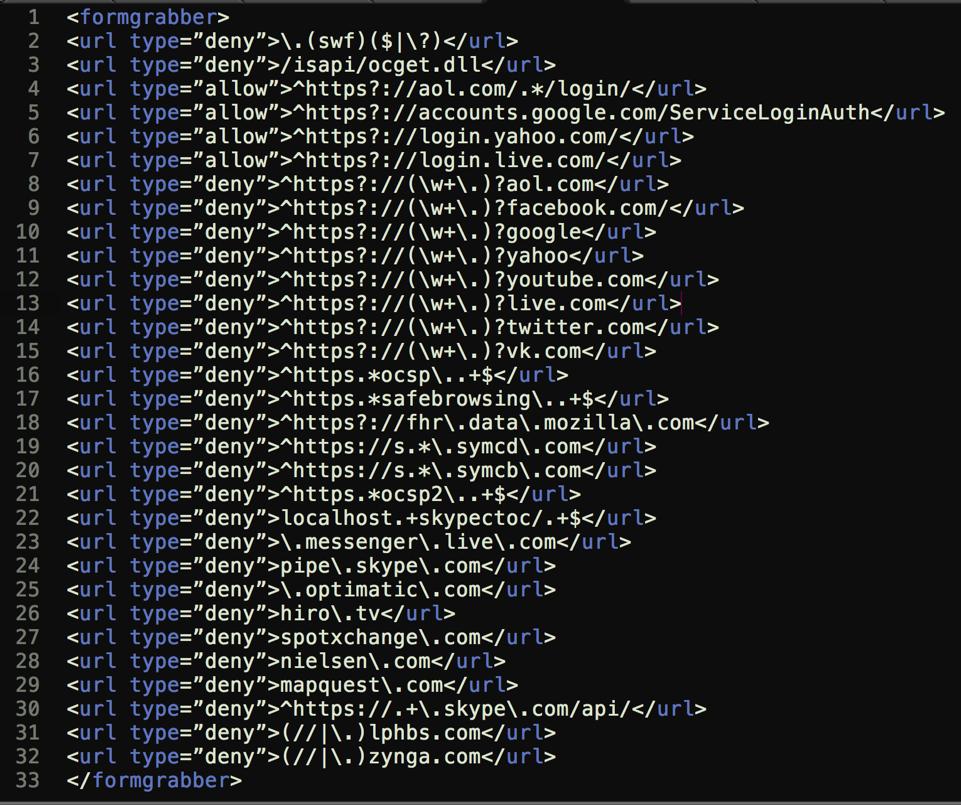 Dridex XML