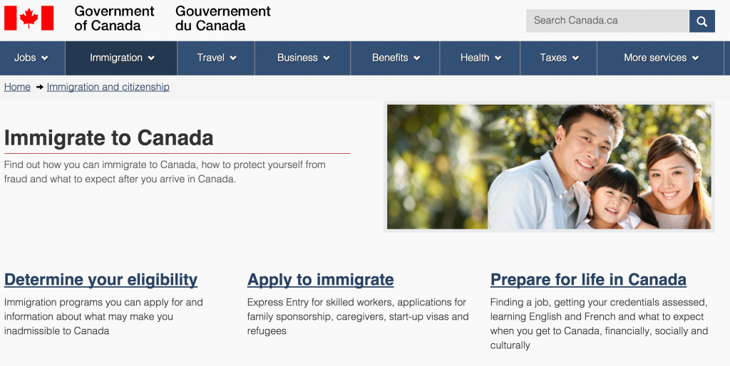 Emigrate to Canada
