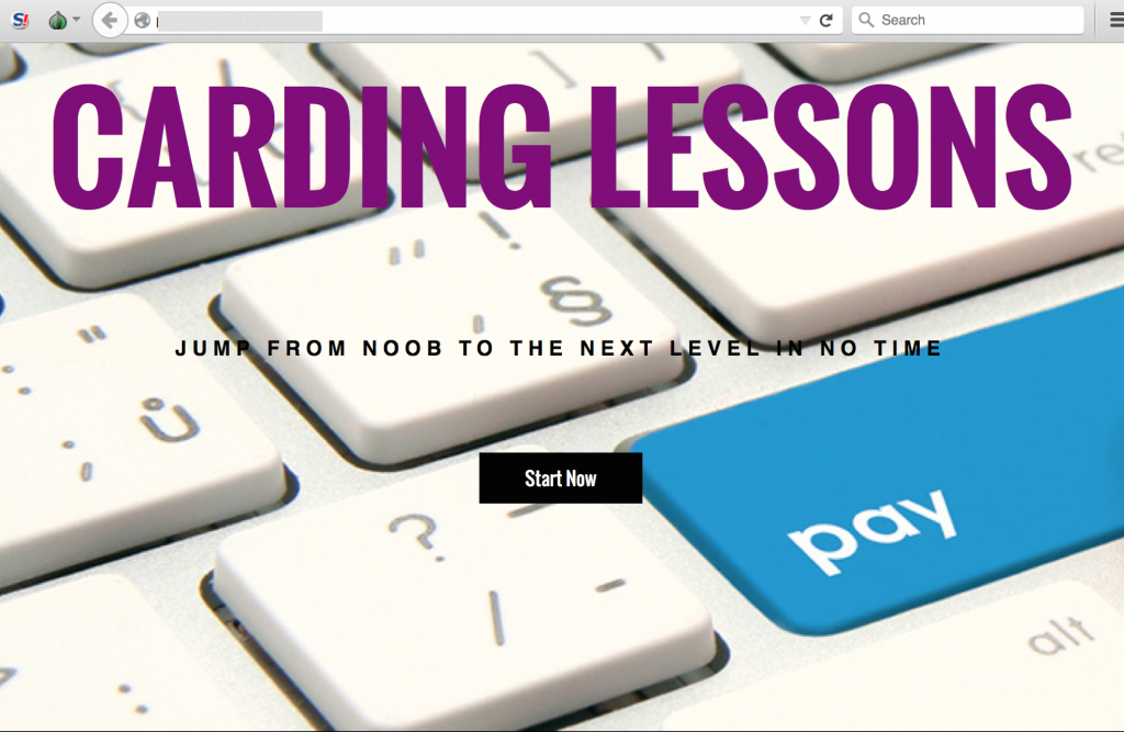 Carding Lessons