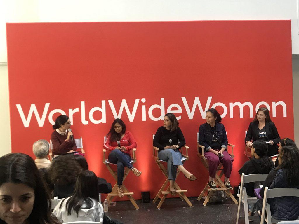 World Wide Women Girls' Festival in San Francisco Cisco Umbrella Panel Moderation 2019