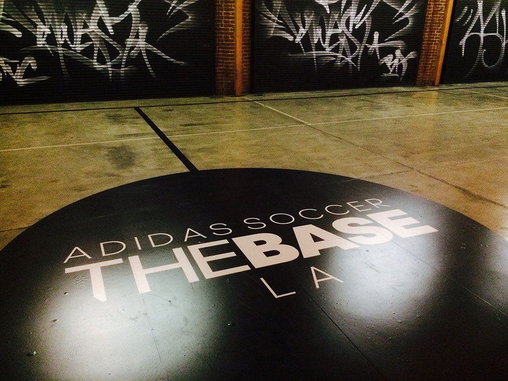 Adidas The Base LA logo