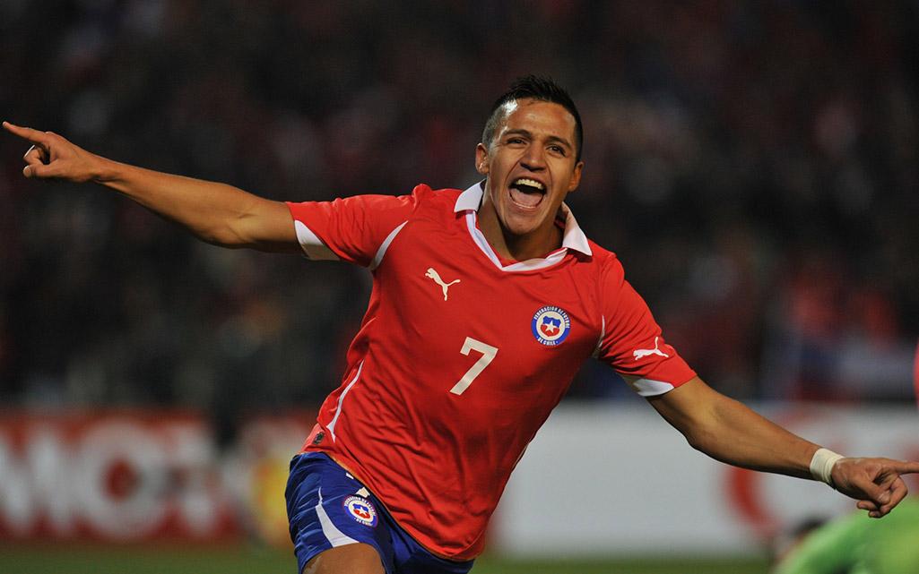 Alexis Sanchez Chile