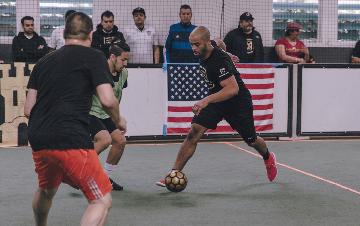 LAFC's Creative Director, Marcus McDougald, shows he can do more than just talk about the game.