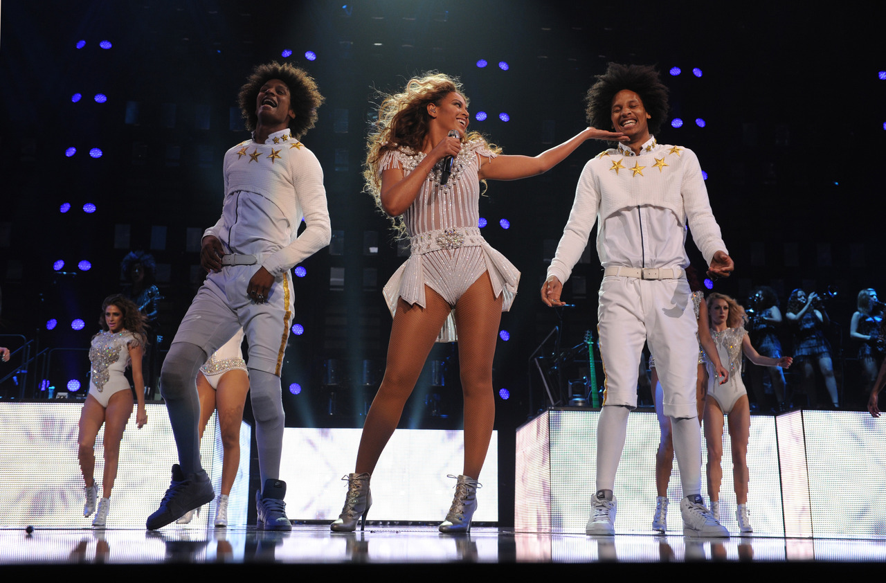 Les Twins Dance with Beyonce