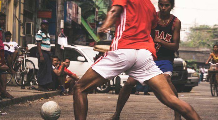 street football Myanmar