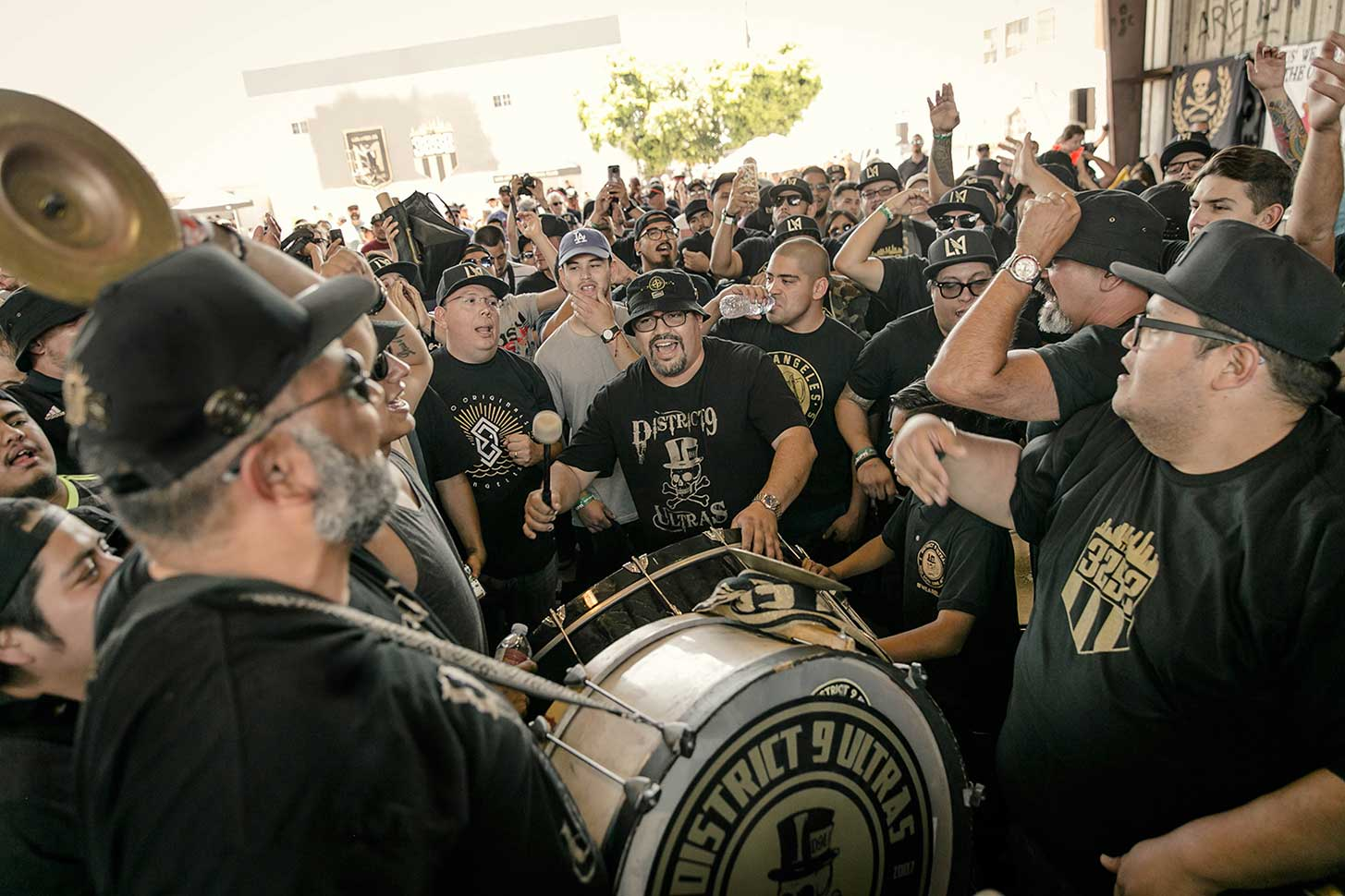 LAFC Black & Gold Rally 3252