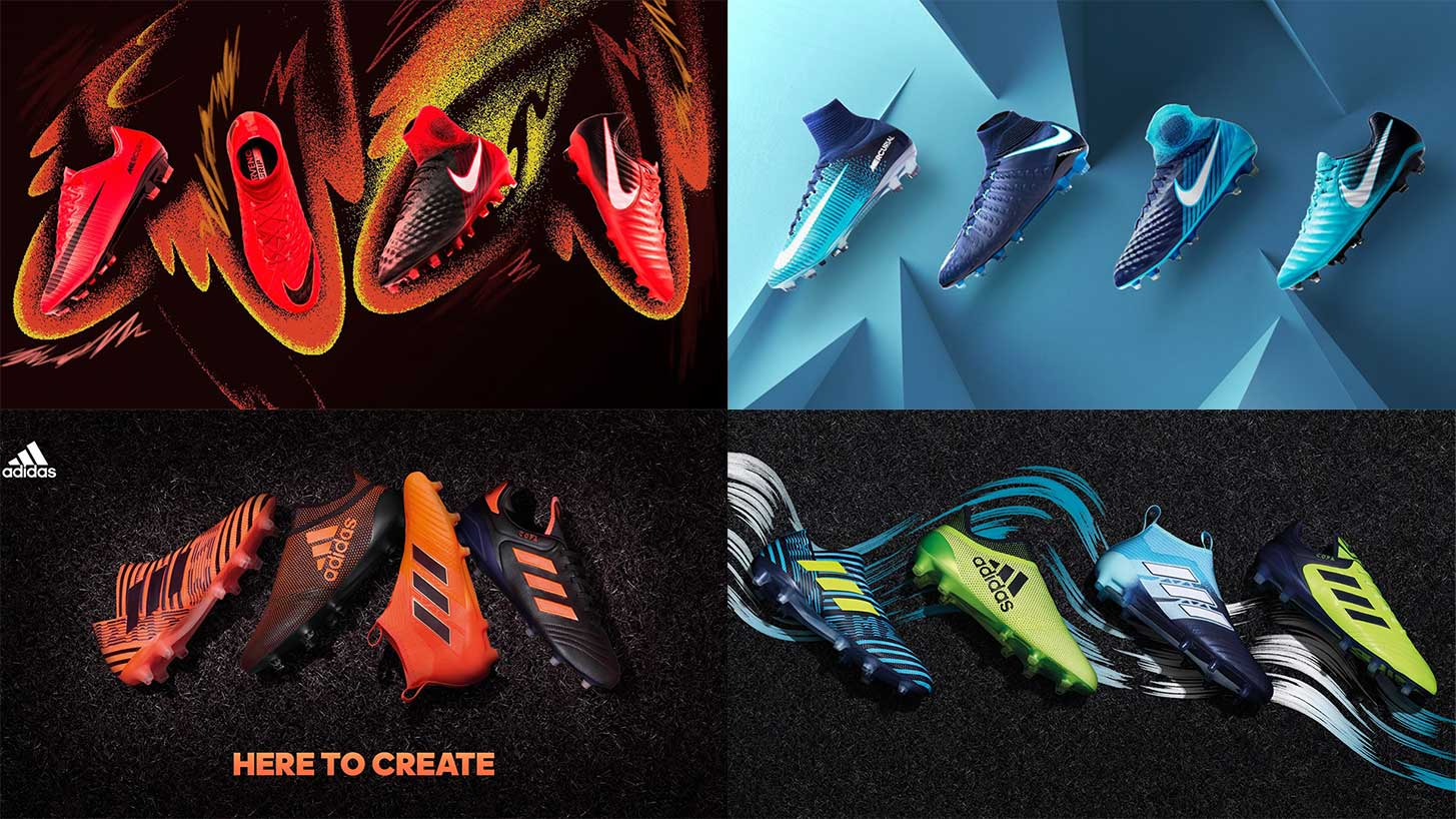 94b25832f Take Your Pick  Nike Fire and Ice or Adidas Ocean and Pyro Storm ...