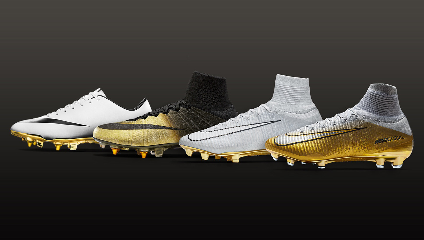 b24c2a93bef A Look Back at the Iconic Boots That Propelled Cristiano Ronaldo to Five Ballon  d Or Trophies