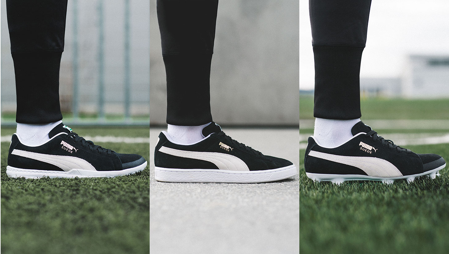 check out 09446 56471 Puma's FUTURE Suede Brings Classic Street Style to the Pitch ...