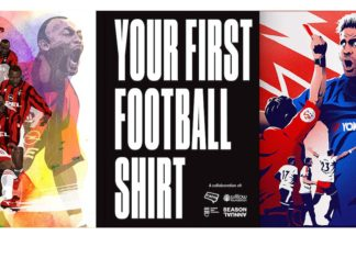 your first football shirt