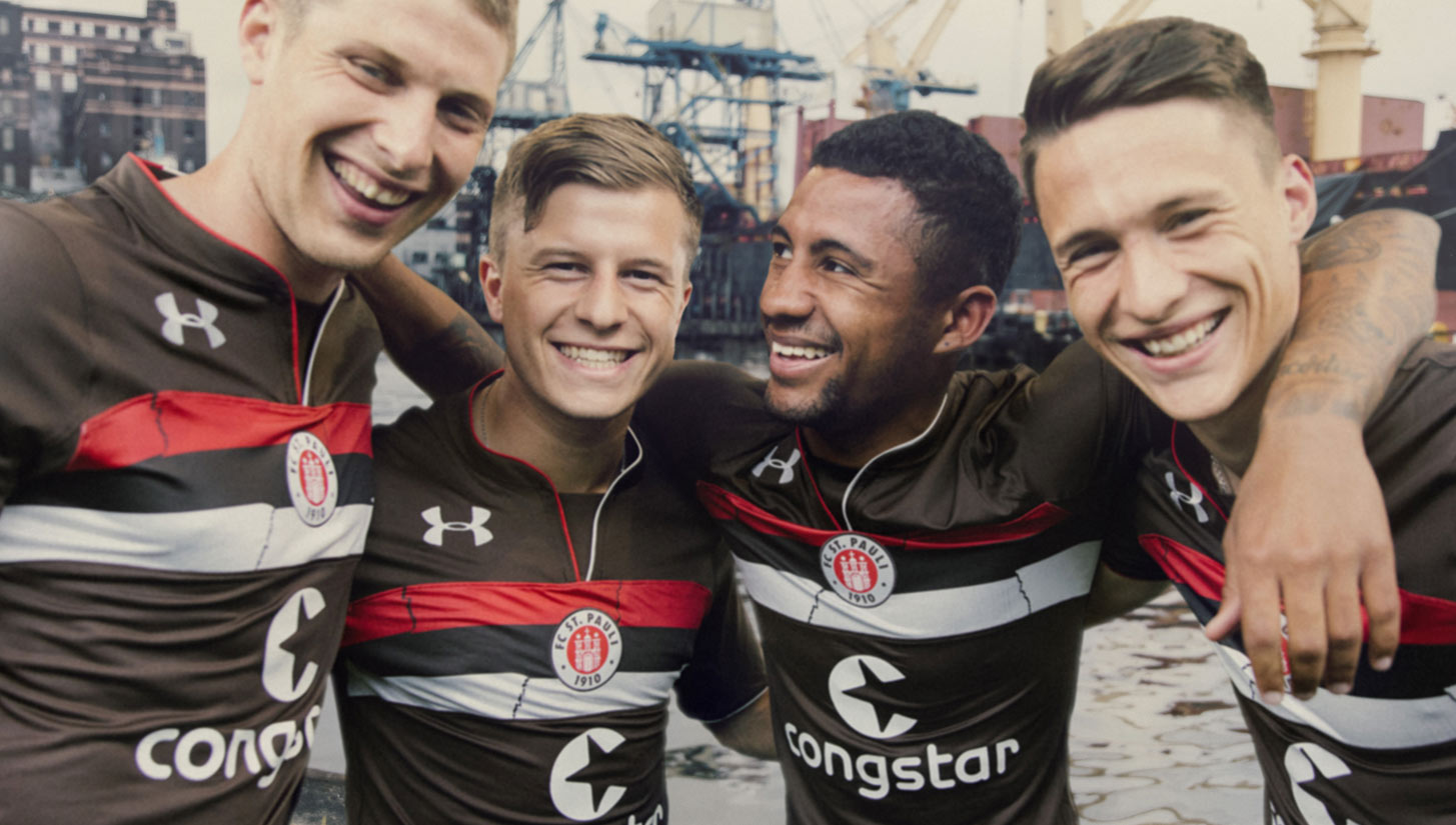 purchase cheap 5837d 2c2aa Under Armour and FC St. Pauli Celebrate Football's ...