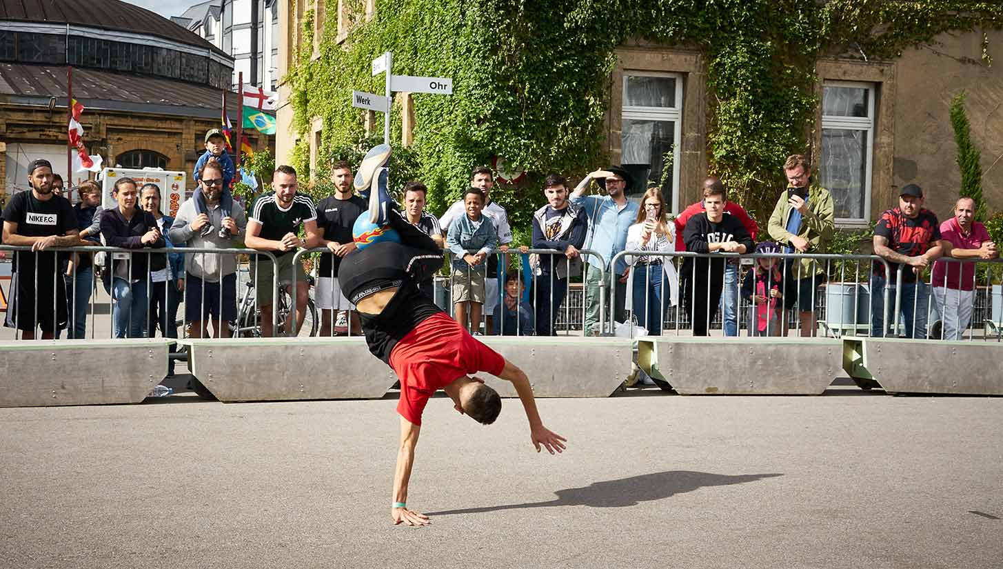 street football luxembourg