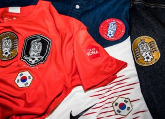 korea official team merchandise