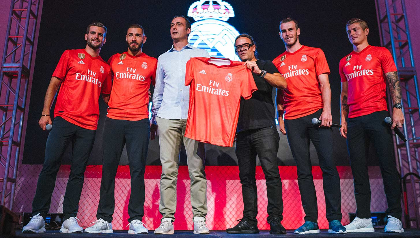 lowest price 7bc50 16872 adidas x Parley Unveil Stunning Real Madrid Third Kits in ...