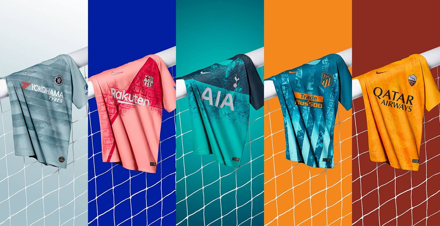 8abccece27d A Closer Look at the Hidden Meanings Behind Nike s 2018-19 Third Kits -  Urban Pitch