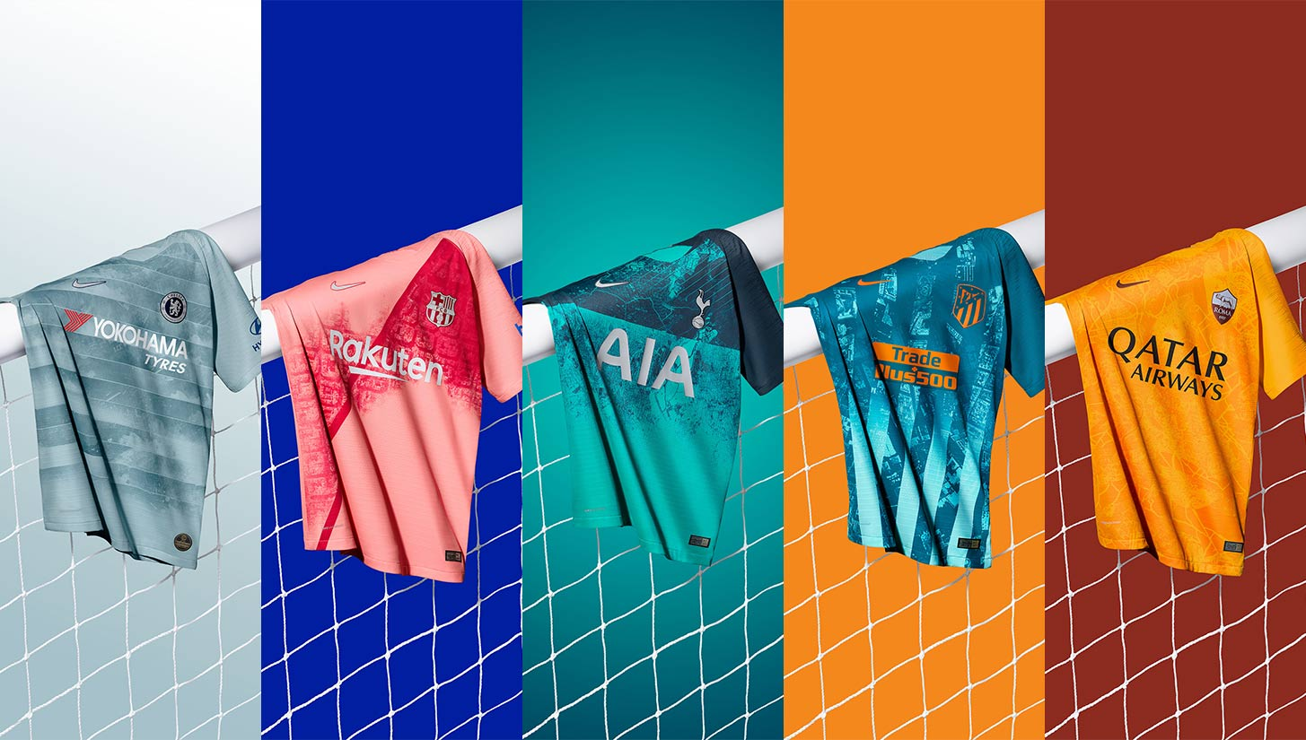 d65b9ca25e0 A Closer Look at the Hidden Meanings Behind Nike's 2018-19 Third Kits