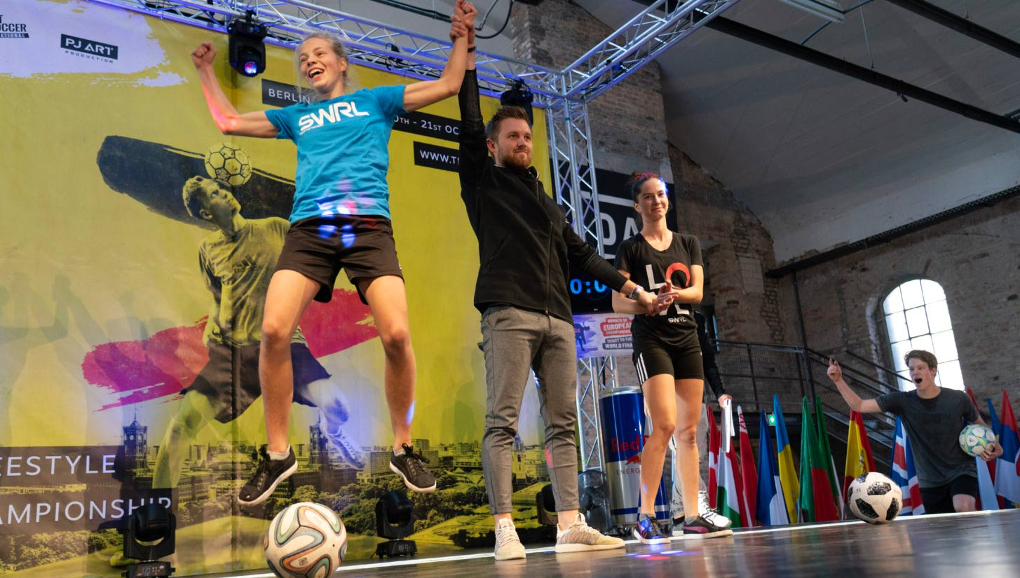 european freestyle football championships