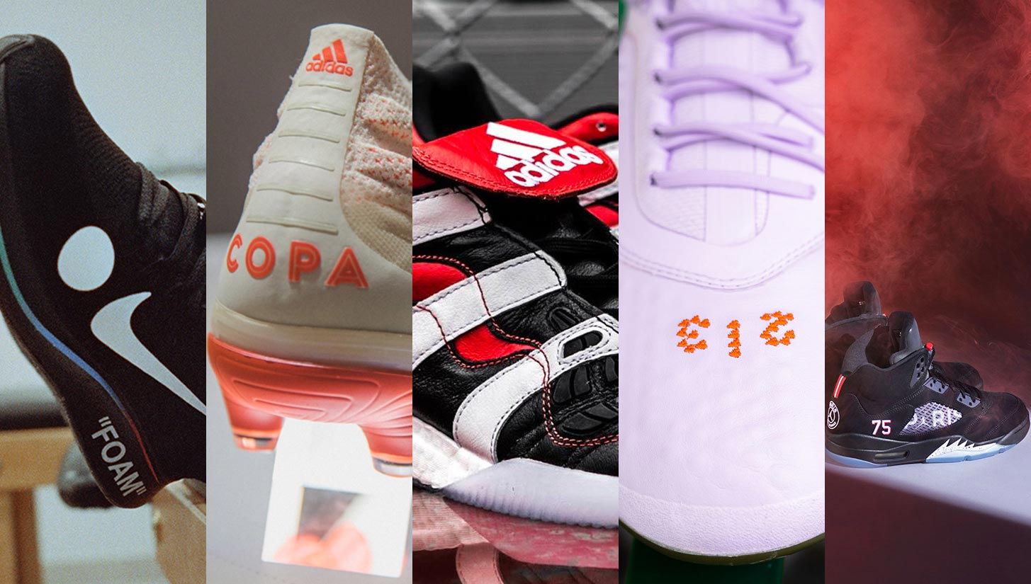 af352c394 The Year in Review  The Best Football Boot and Sneaker Releases of 2018