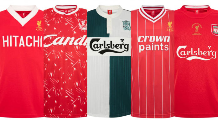 liverpool retro kits
