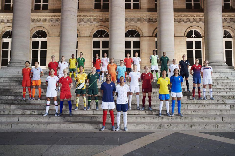 Women's World Cup Kits