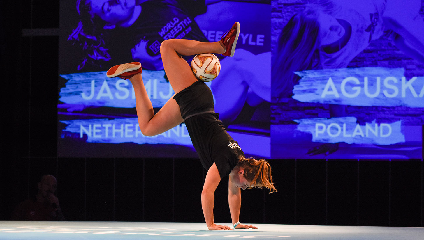 womens european freestyle football championships
