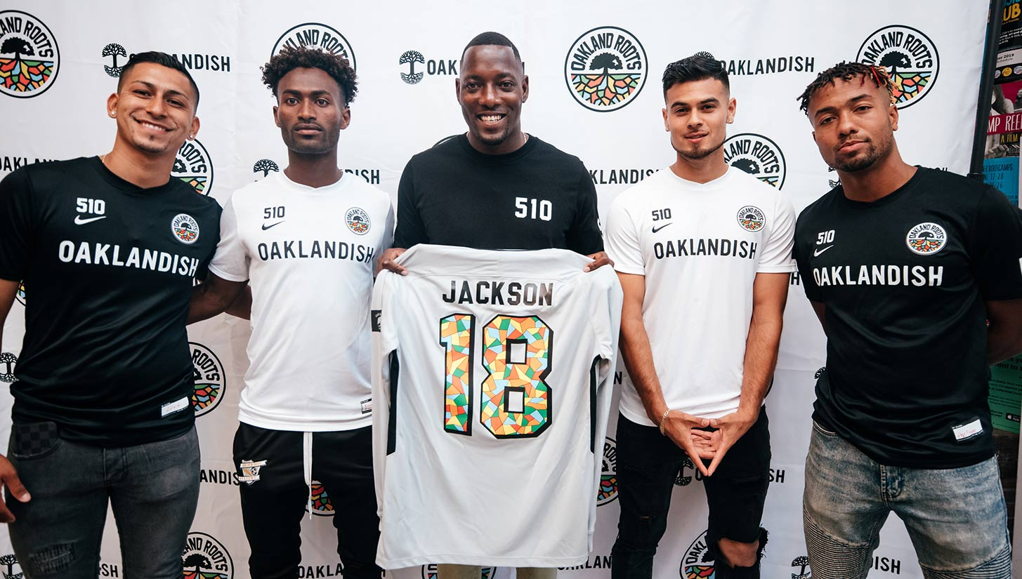 oakland roots jersey