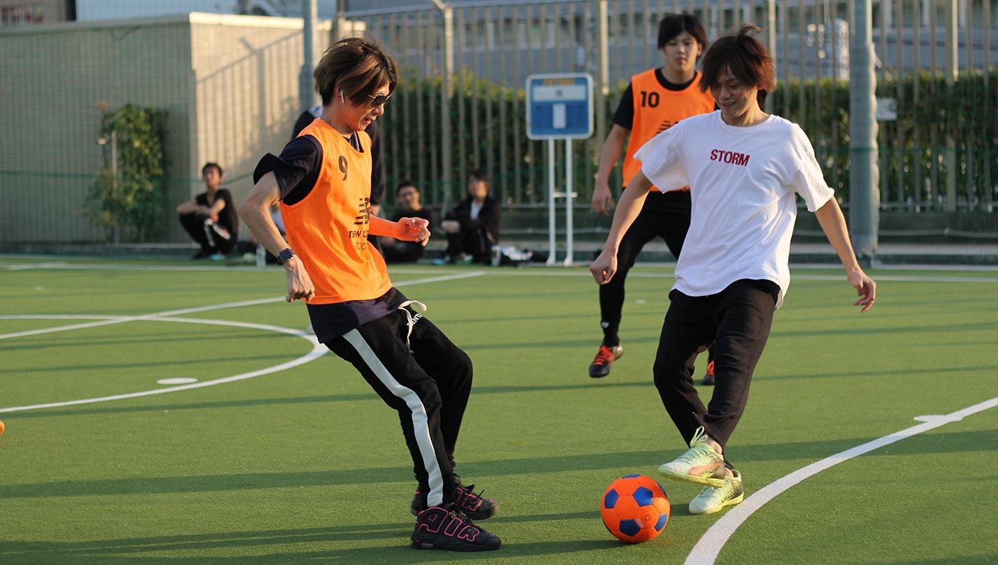 osaka street football