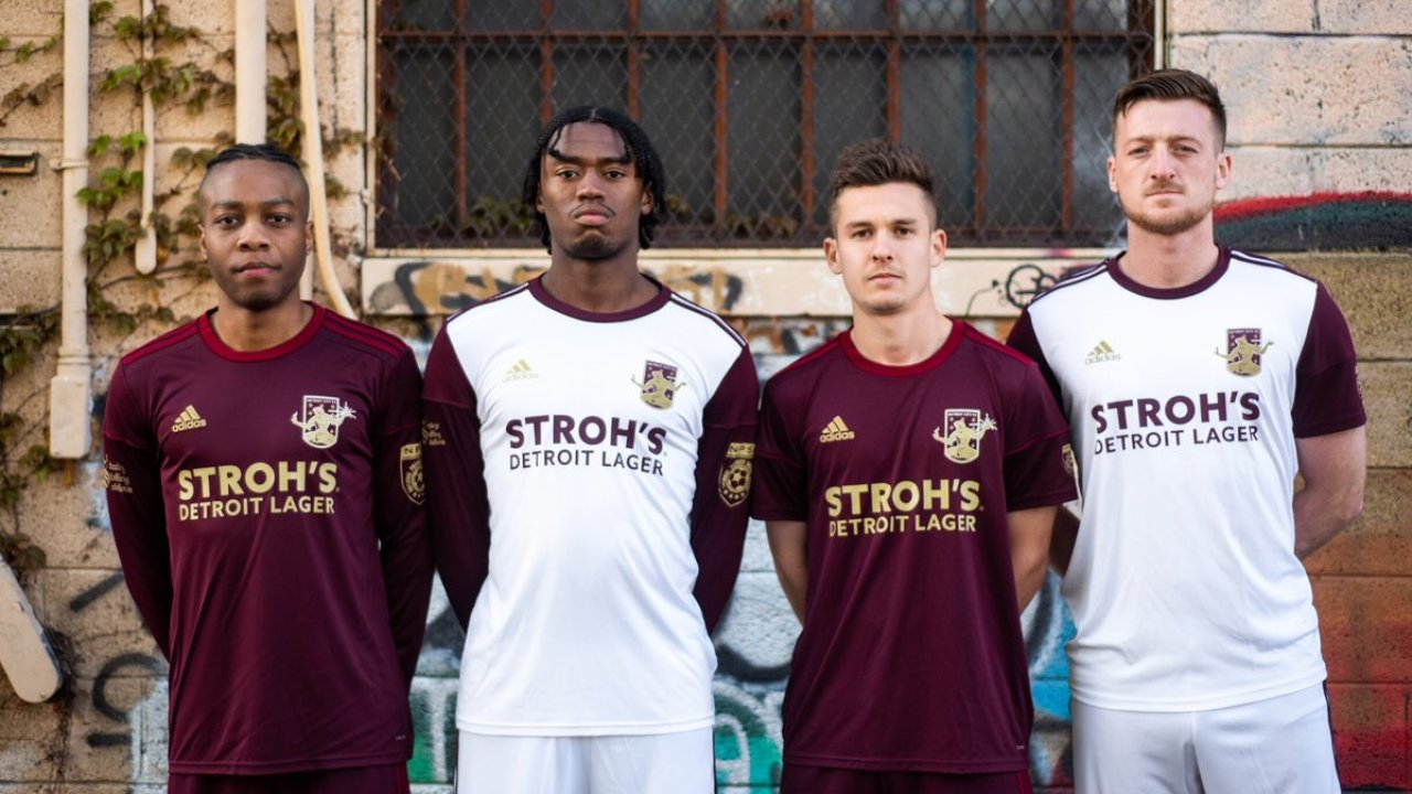 detroit city fc kits