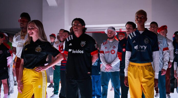 mls adidas fashion show
