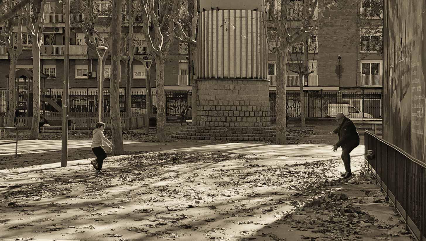 street football barcelona