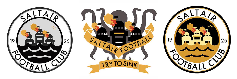 saltair fc logos
