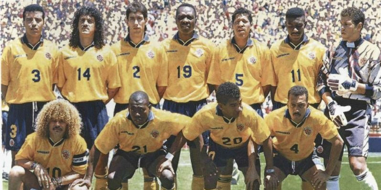 colombia national team 1994