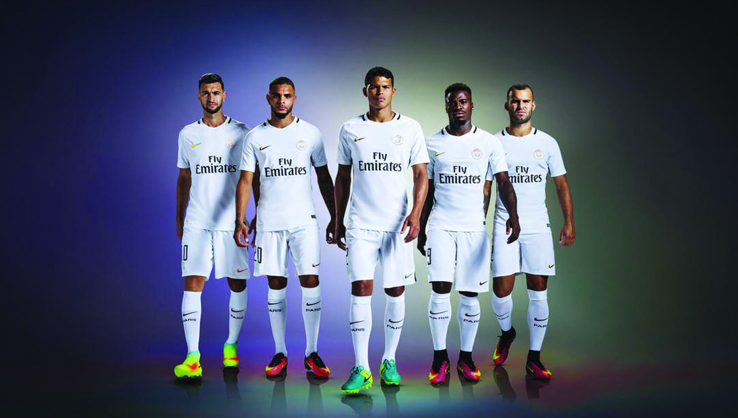 psg third kit 2016-17