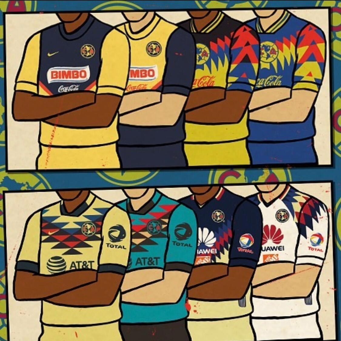 peter otoole club america kits