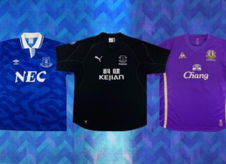 best everton kits