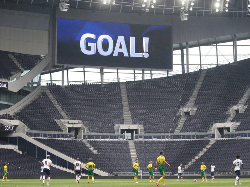 empty stadiums premier league