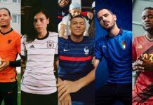 best euro 2020 kits